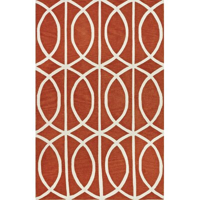 Blackledge Pumpkin Area Rug Rug Size: Rectangle 8 x 10