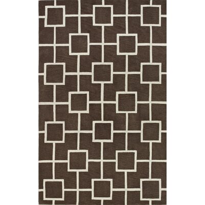 Oriana Mocha Area Rug Rug Size: Rectangle 36 x 56