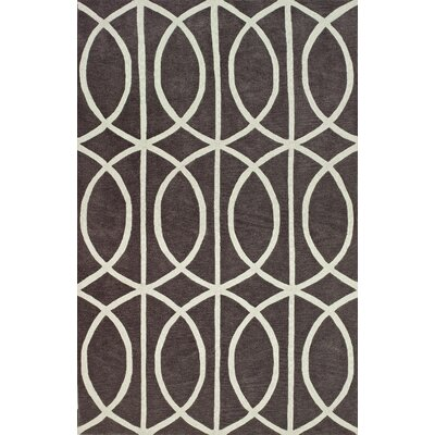 Blackledge Gray Area Rug Rug Size: 9 x 13