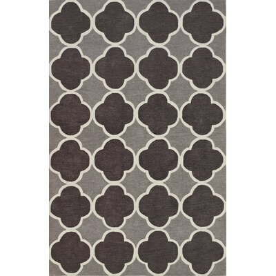 Mitchel Charcoal Area Rug Rug Size: Rectangle 5 x 76