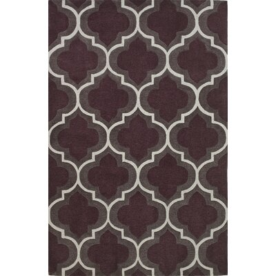 Mitchel Plum Area Rug Rug Size: Rectangle 5 x 76