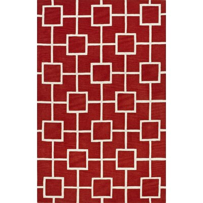 Oriana Lava Area Rug Rug Size: Rectangle 36 x 56
