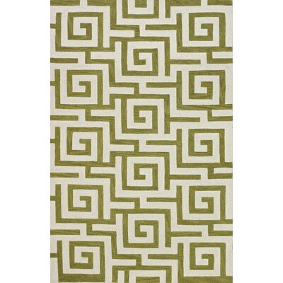 Carreiro Citron Area Rug Rug Size: Rectangle 5 x 76