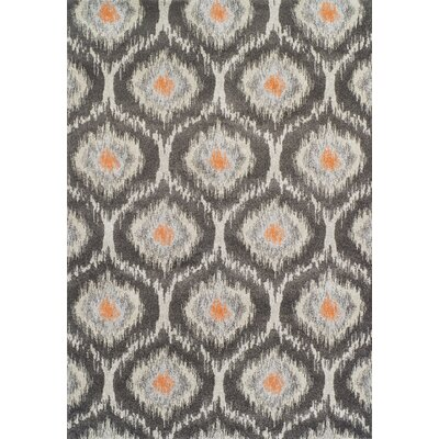 Bracero Pewter Area Rug Rug Size: Rectangle 53 x 77