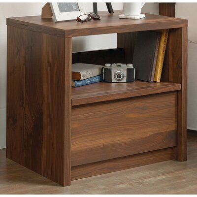 Posner 1 Drawer Nightstand