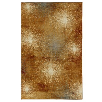 Nichole Gold Area Rug Rug Size: Rectangle 5 x 8