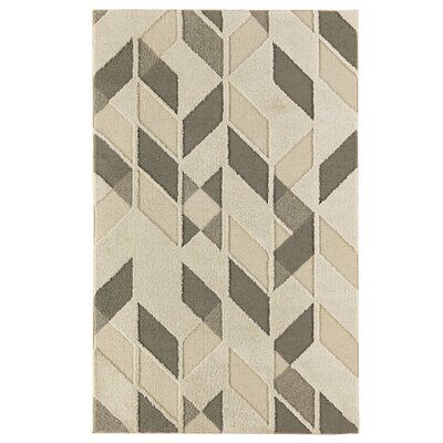 Braydon Cream Area Rug Rug Size: Rectangle 5 x 8