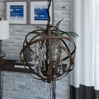 Dorota 3-Light Globe Pendant
