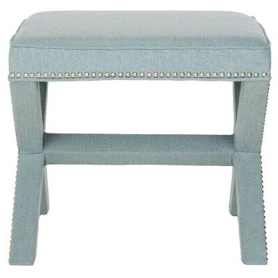 Leia Ottoman Upholstery: Sky Blue