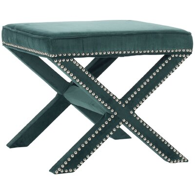 Leia Ottoman Upholstery: Marine