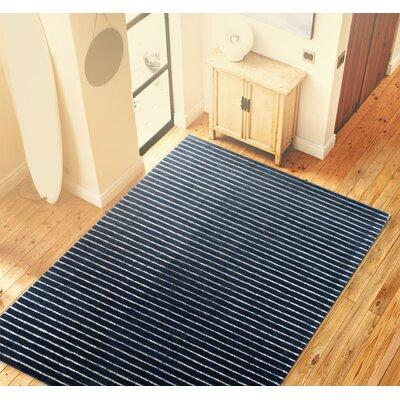 Worsham Blue Area Rug Rug Size: 86 x 116