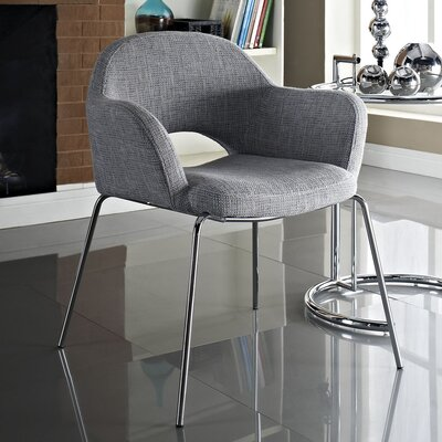 Bradway Cordelia Dining Armchair Finish: Light Gray