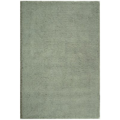 Carrabelle Light Blue Area Rug Rug Size: Round 4