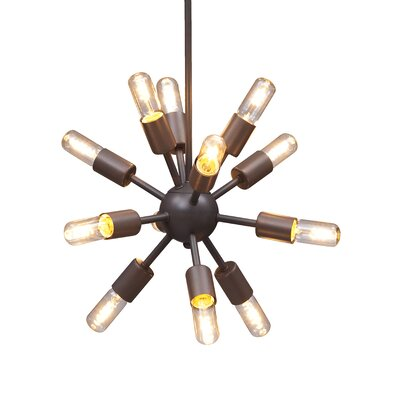 Bragdon 12-Light Sputnik Chandelier