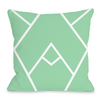 Braiden Throw Pillow Color: Honey Dew