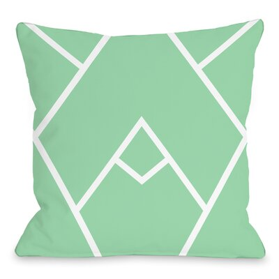 Braiden Indoor/Outdoor Throw Pillow Color: Honey Dew, Size: 16 H x 16 W x 3 D