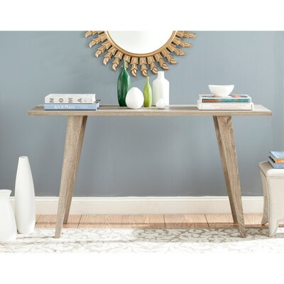 Braley Console Table Finish: Oak