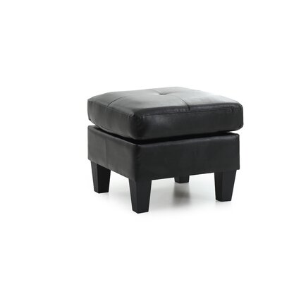 Tiff Ottoman Color: Black