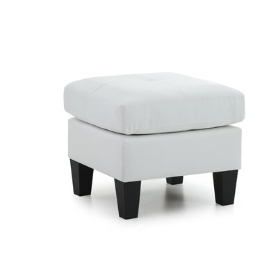 Tiff Ottoman Color: White