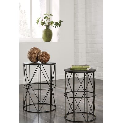 Slifer 2 Piece End Table Set