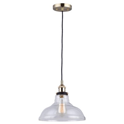 Capuano 1-Light Inverted Pendant