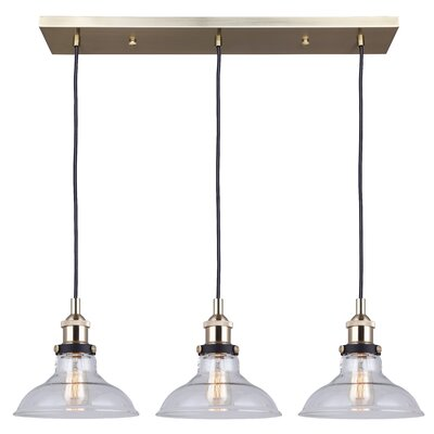 Capuano 3-Light Kitchen Island Pendant