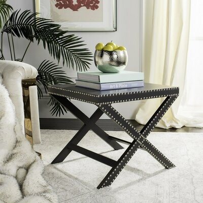 Ardis End Table Color: Gray