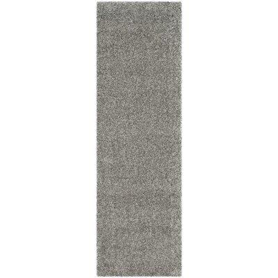Arce Silver Area Rug Rug Size: Runner 23 x 7