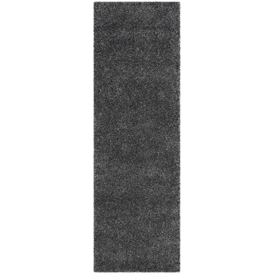 Arce Dark Gray Area Rug Rug Size: Runner 23 x 7