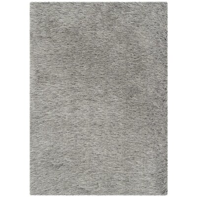 Vandeusen Hand-Tufted Silver Area Rug Rug Size: Rectangle 76 x 96