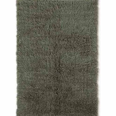 Carrico Flokati Hand-Woven Green Area Rug Rug Size: 6 x 9