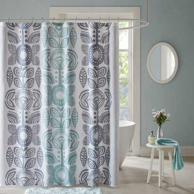 Leora Cotton Shower Curtain