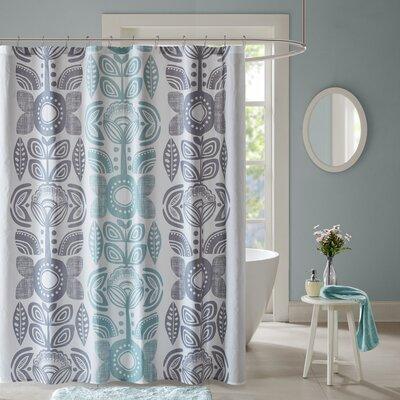 Carillo Cotton Shower Curtain
