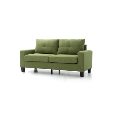 Tiff Sofa Finish: Green