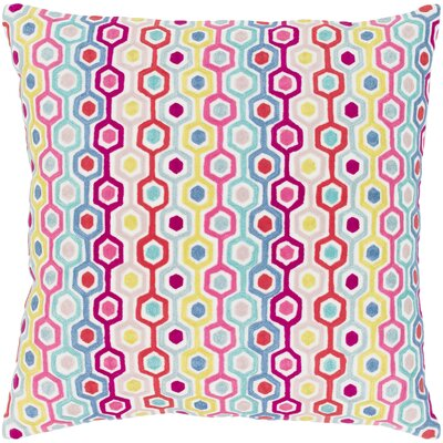 Astrid 100% Cotton Pillow Cover Size: 18 H x 18 W