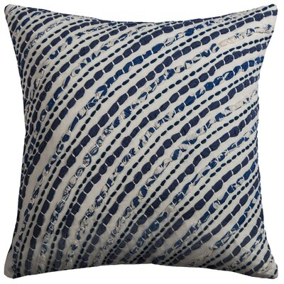 Lathan Cotton Sheeting/Voile Throw Pillow