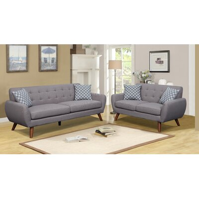 Carlson Sofa and Loveseat Set
