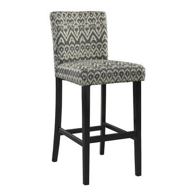 Gleno 30 Bar Stool Finish: Driftwood