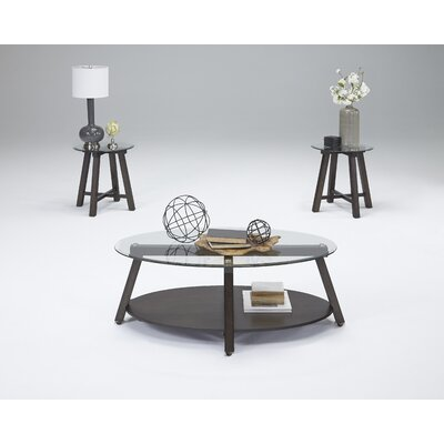 Esteban 3 Piece Coffee Table Set