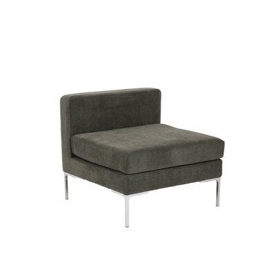 Mccurley Slipper Chair Upholstery: Dark Gray