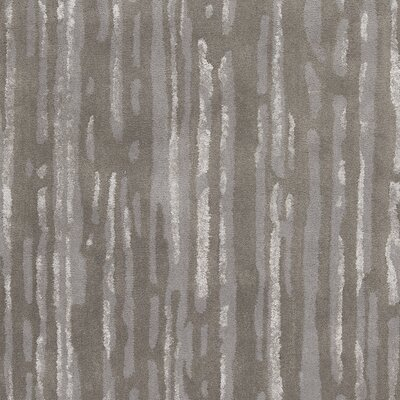 Mcdade Gray/Slate Wool Area Rug