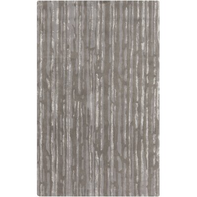 Mcdade Gray/Slate Area Rug Rug Size: 5 x 8