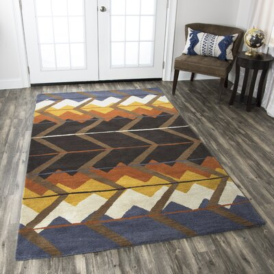 Benjamin Hand-Tufted Multi Area Rug Rug Size: Runner 26 x 8