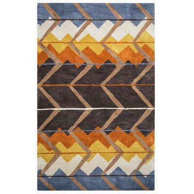Benjamin Hand-Tufted Multi Area Rug Rug Size: Rectangle 5 x 8