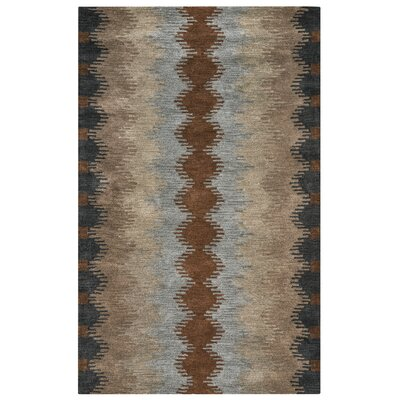 Benjamin Hand-Tufted Rectangle Multi Area Rug Rug Size: 9 x 12