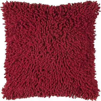 Damis 100% Cotton Throw Pillow Color: Red