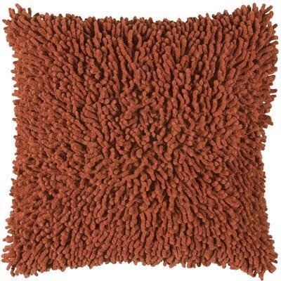 Damis 100% Cotton Throw Pillow Color: Paprika