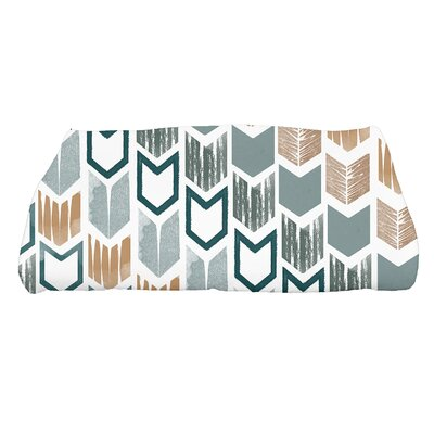 Waller Peace 1 Geometric Bath Towel Color: Teal