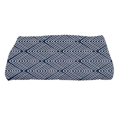 Borel Bath Towel Color: Navy Blue