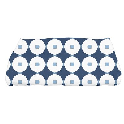 Waller Arrow Geometric Bath Towel Color: Blue